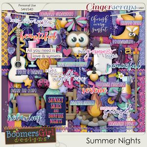 Summer Nights by BoomersGirl Designs