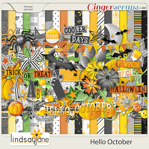 Hello October by Lindsay Jane