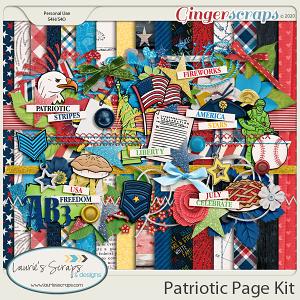 Patriotic Page Kit