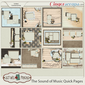 The Sound of Music Quick Pages by Scraps N Pieces