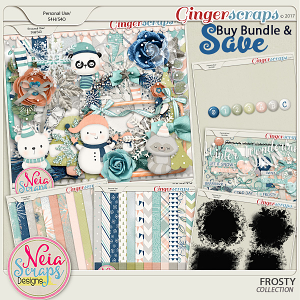 Frosty - Bundle - By Neia Scraps