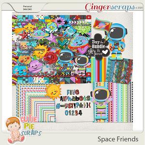 Space Friends Bundle By Cutie Pie Scraps