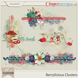 Berrylicious Clusters by JoCee Designs