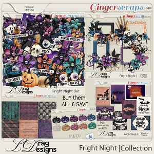 Fright Night: The Collection by LDragDesigns