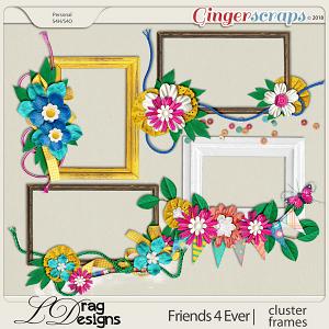 Friends For Ever: Cluster Frames by LDragDesigns