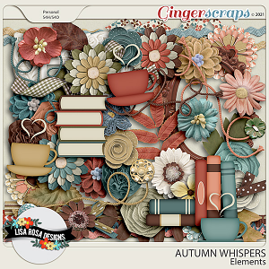 Warm and Cozy - Elements by Lisa Rosa Designs