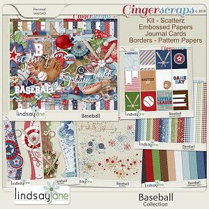 Baseball Collection by Lindsay Jane
