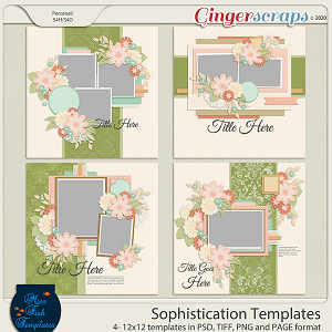 Sophistication Templates by Miss Fish