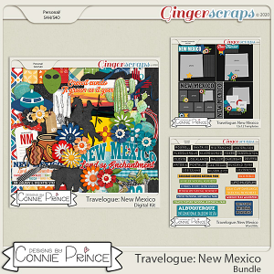 Travelogue New Mexico - Bundle Pack by Connie Prince
