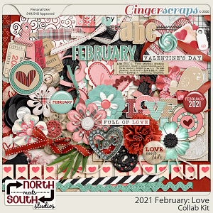 2021 February: Love Full Kit by North Meets South Studios