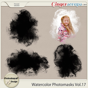 Watercolor photomasks Vol.17