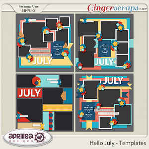 Hello July - Template Pack