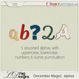 December Magic: Alphas by LDragDesigns