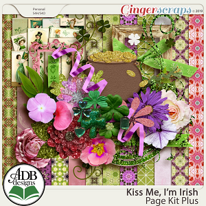 Kiss Me, I'm Irish Page Kit by ADB Designs