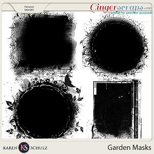 Garden Masks by Karen Schulz