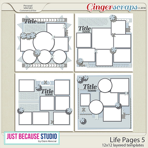 Life Pages 5 Templates by JB Studio