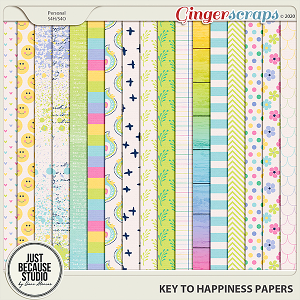 Key to Happiness Papers by JB Studio