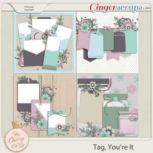 The Cherry On Top Tag!  You're It! Templates
