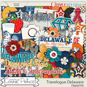 Travelogue Delaware - Kit by Connie Prince