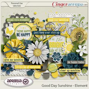 Good Day Sunshine - Elements by Aprilisa Designs