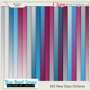 365 New Days Ombre Papers