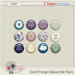 Don't Forget About Me Flairs by Luv Ewe Designs
