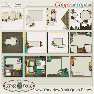 New York, New York Quick Pages by Scraps N Pieces