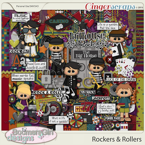 Rockers & Rollers by BoomersGirl Designs