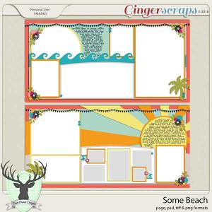 Some Beach Templates by Dear Friends Designs