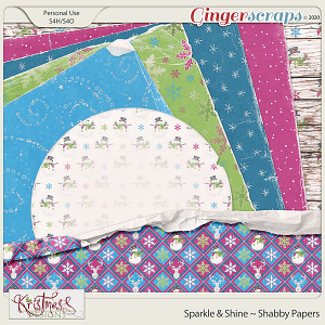 Sparkle & Shine Shabby Papers