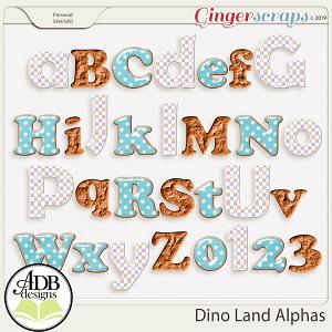 Dino Land Discovery Alphas by ADB Designs