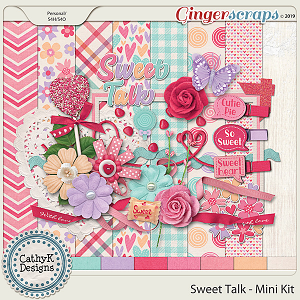 Sweet Talk - Mini Kit by CathyK Designs
