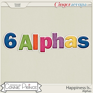 Happiness Is.. - Alpha Pack AddOn by Connie Prince