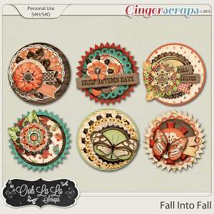 Fall Into Fall Cluster Seals