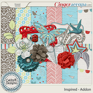 Inspired Addon Kit: by CathyK Designs