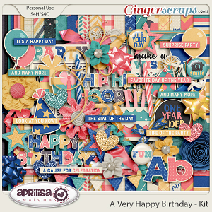 A Very Happy Birthday - Kit