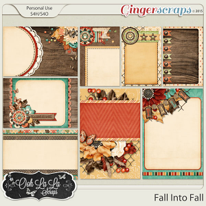 Fall Into Fall Journal and Pocket Scrapbooking Cards