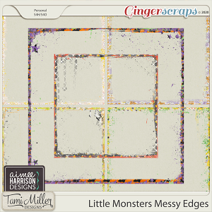 Little Monsters Messy Edges by Aimee Harrison and Tami Miller