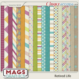 Retired Life PAPERS by MagsGraphics