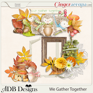We Gather Together Clusters by ADB Designs