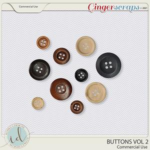 CU Buttons Vol 2 by Ilonka's Designs