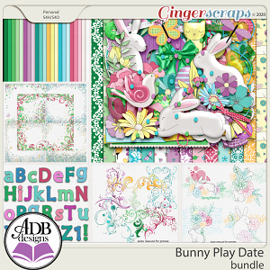 Bunny Play Date Bundle by ADB Designs