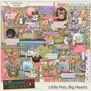 Little Pets, Big Hearts by BoomersGirl Designs