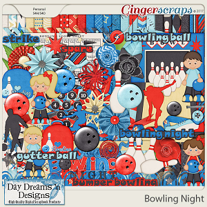 Bowling Night {Kit} by Day Dreams 'n Designs