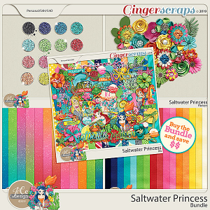 Saltwater Princess Bundle by JoCee Designs