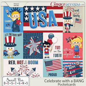 Celebrate with a Bang Pocketcards