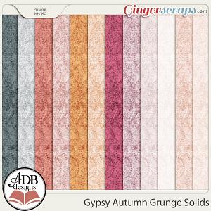 Gypsy Autumn Grunge Solids by ADB Designs