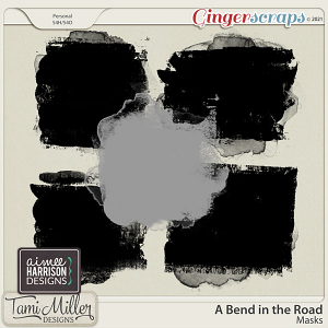 A Bend in the Road Masks by Tami Miller and Aimee Harrison