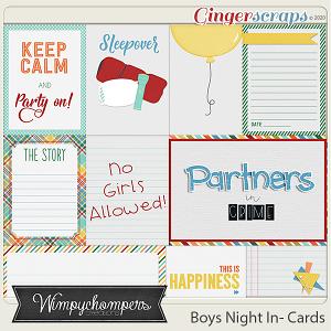 Boys Night In- Cards