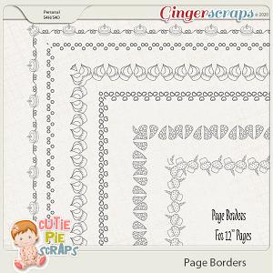 Page Borders 32 By Cutie Pie Scraps